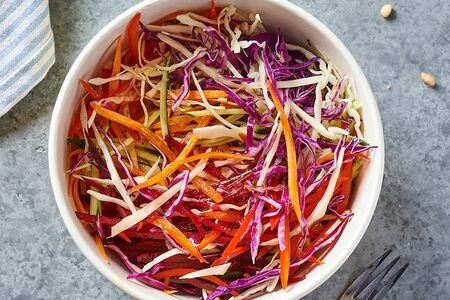 Салат Коул слоу с овощным миксом