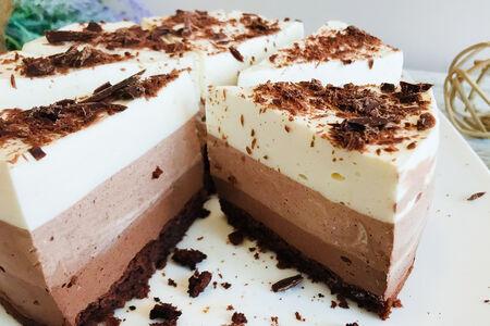 Торт Чизкейк Три Шоколада