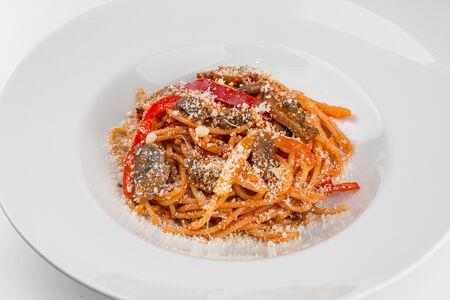 Паста Грибы-сладкий перец