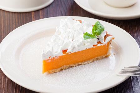 Морковно-апельсиновый тарт