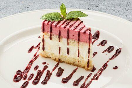 Торт Малиново-творожный
