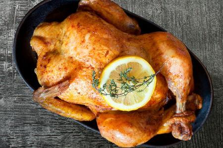 Шашлык из целой курицы