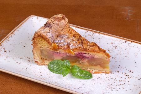 Нормандский пирог с грушей