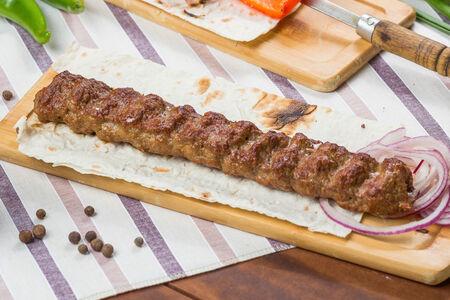 Люля-кебаб из говядины со свининой