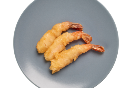 Креветки темпура