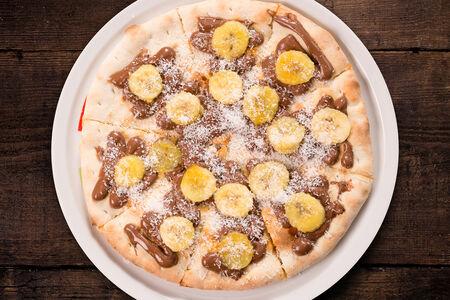Пицца Нутелла и банан