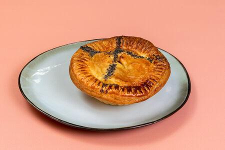 Пирог с курицей Том Ям