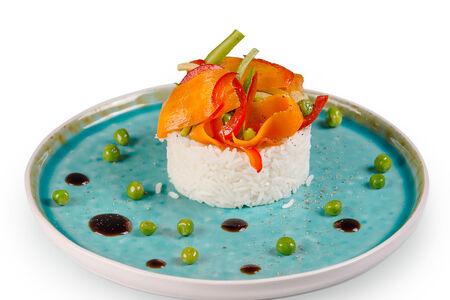 Рис басмати с овощами