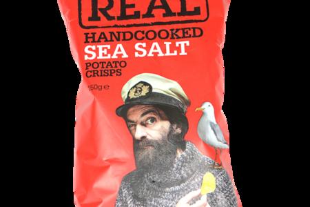 Чипсы картофельные Real с морской солью