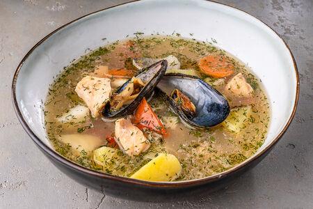Суп Уха из северных рыб