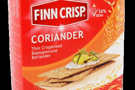 Сухарики Бородинские с кориандром, Finn Crisp