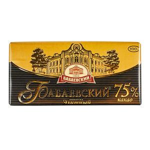 «Бабаевский» 75% какао