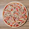 Фото к позиции меню Пицца Ветчина-грибы