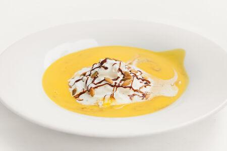 Бессарабский крем-суп из тыквы