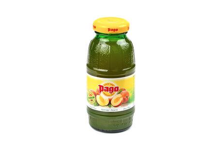 Паго сок персиковый 0,2 л