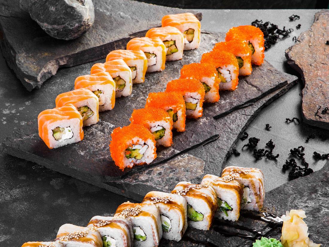 Genso sushi & Я в Тай!