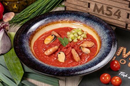 Крем-суп Томатный с морепродуктами
