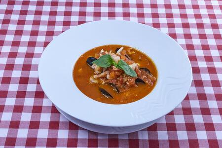Суп из морепродуктов Ди марэ