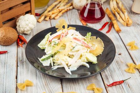 Салат из снежного краба
