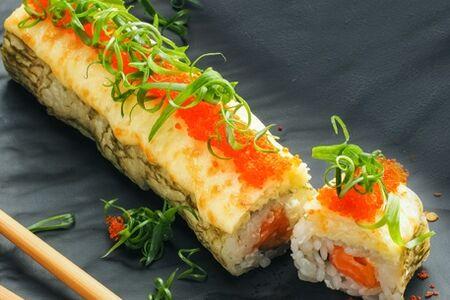 Моцарелла ролл с лососем
