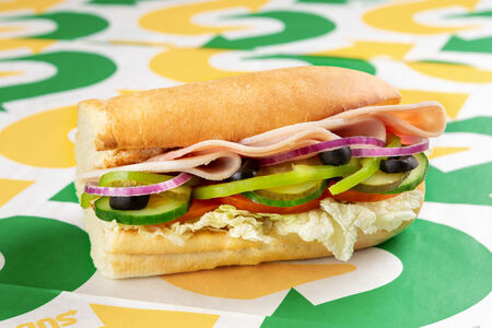 Сэндвич Индейка и ветчина маленький