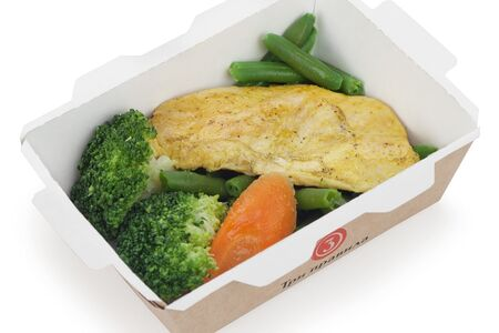 Куриная грудка с овощами а-ля Sport