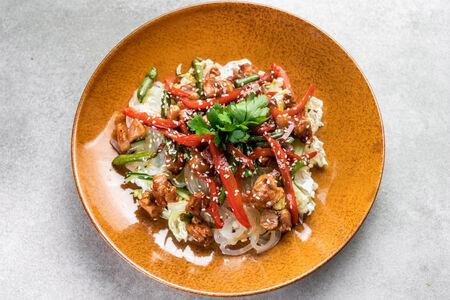 Салат Теплый по-азиатски