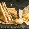 Фото к позиции меню Клаб-сэндвич Геллерт