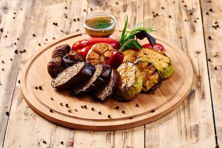 Овощи, приготовленные в тандыре