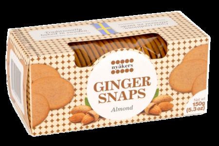 Печенье имбирное с миндалем, Nyakers