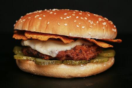 Чизбургер Сырный