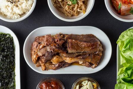 Корейское барбекю с телятиной