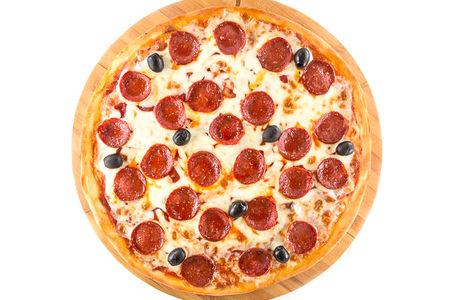 Пицца Пепперони на углях