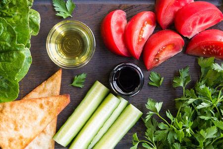 Салат Овощной классический вегетарианский