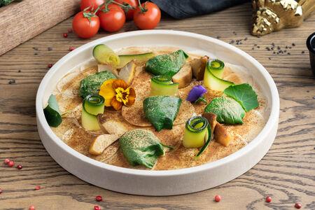 Карпаччо из грибов с трюфельным маслом