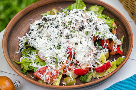 СП Греческий салат с брынзой