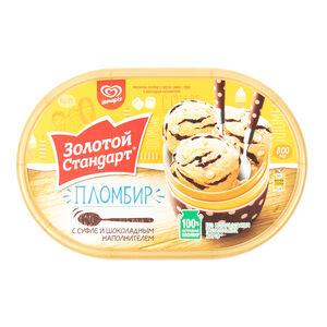 «Золотой стандарт» Пломбир с суфле и шоколадом