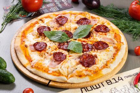 Пицца мясная Пепперони