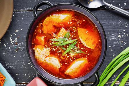 Суп Тендян Тиге с курицей