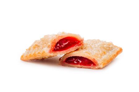 Пирожок с вишневой начинкой