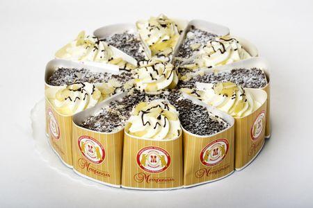 Торт Мед и шоколад