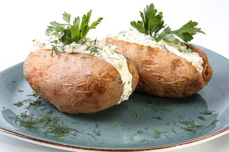 Картофель Папассада с курицей и грибами