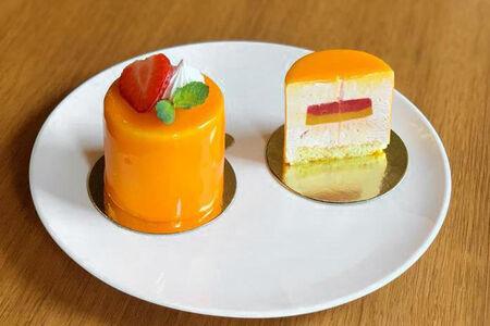 Пирожное Клубника-манго