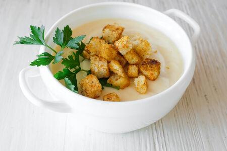 Крем-суп рыбный