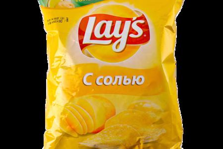 Чипсы картофельные Lays Золотистые с солью