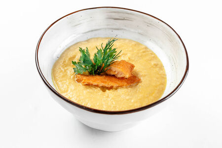 Крем-суп Лосось