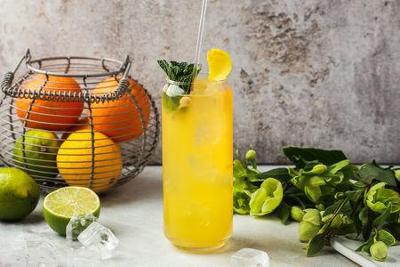 Домашний лимонад Цитрусовое безобразие