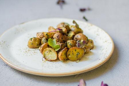 Запеченный бэби-картофель