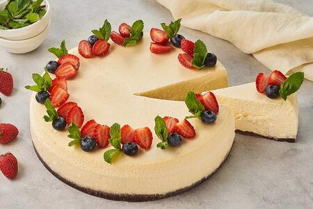 Торт Чизкейк запеченный круг