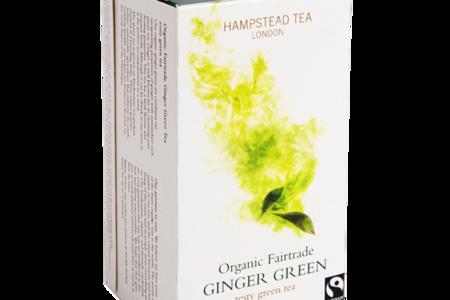 Чай зеленый Hampstead с имбирем, 25 х